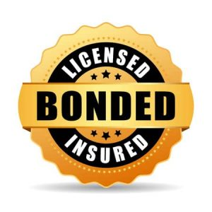 Our Houston, TX team is licensed, insured and bonded